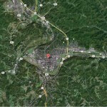 Athens Ohio Map
